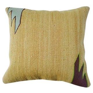 Turkish Tan Kilim Pillow