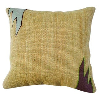 Turkish Tan Kilim Pillow