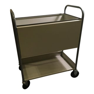 Industrial Rolling File Cabinet