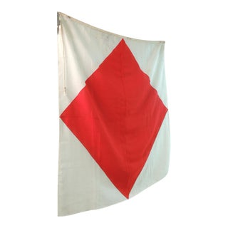 Red & White Nautical Flag