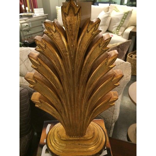 Gold Leaf Wildwood Lamp - Image 3 of 8