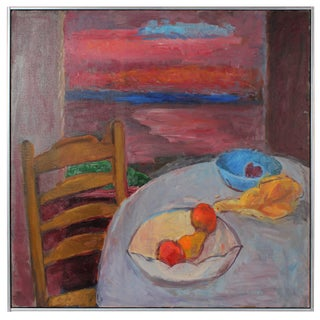 Sunset Still Life Oil Painting