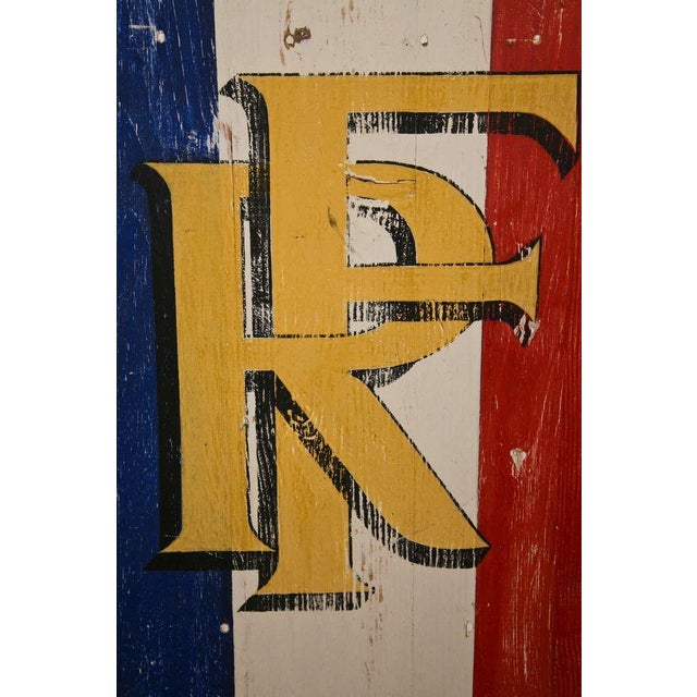 Antique Sign - Republic of France - Image 4 of 7