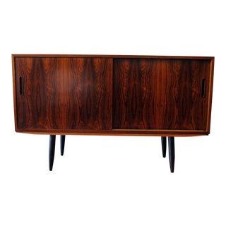 Poul Hundevad Danish Modern Rosewood Credenza