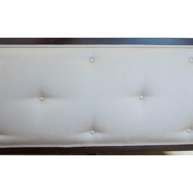 "Image of Century Furniture ""Omni"" Upholstered Queen Bed"