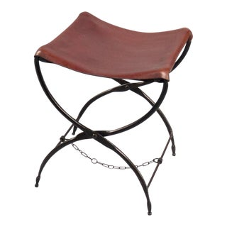 French Campaign Folding Stool