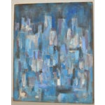 Image of Carmine Sena Vintage Abstract Painting 1960s