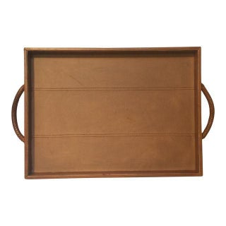 Chestnut Leather Tray