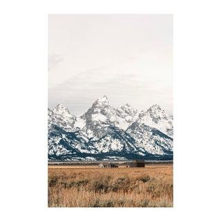 """Cabin in the Tetons"" Original Framed Photograph"