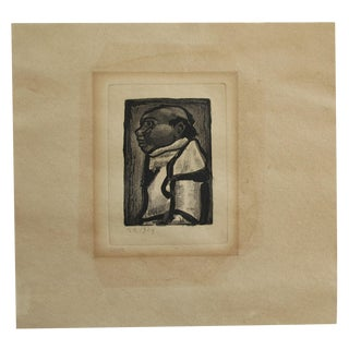 Etching by Georges Rouault