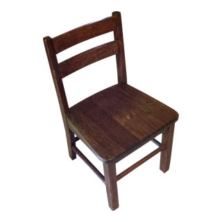 Child / Toddler Traditional Wooden Mini Chair