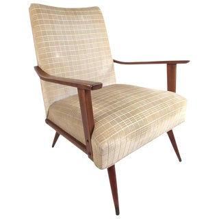 1960s Vintage Mid-Century Modern Lounge Chair