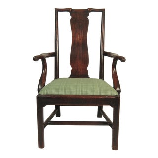 18th Century Chinese Inspired English Country Armchair