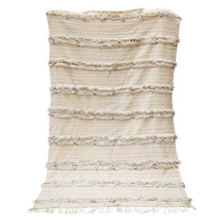 5' X 8' Moroccan Wedding Blanket No. 1