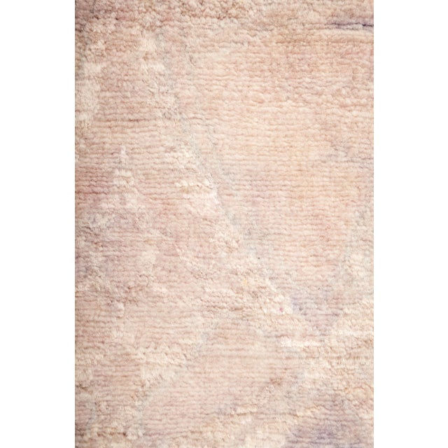 Image of Overdyed Hand Knotted Area Rug - 3' X 5'3""