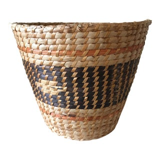 Boho Tribal Basket