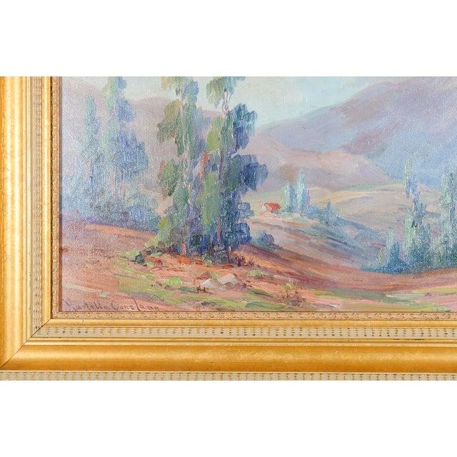 Martella Cone Lane -California Landscape -Oil Painting -Impressionist C.1920s - Image 4 of 10