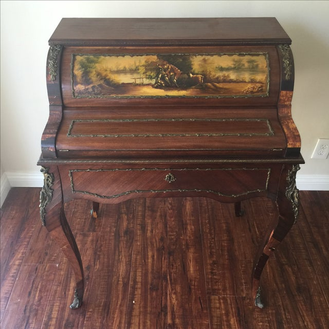 Antique French Style Ladies Desk - Image 2 of 11