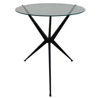 Iron Base Side Table