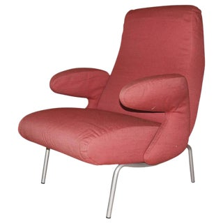 "Carboni for Arflex ""Dolphin"" Lounge Chair"