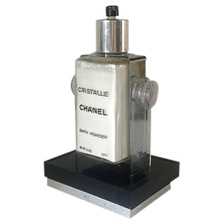 Chanel Cristalle Bath Powder Tester