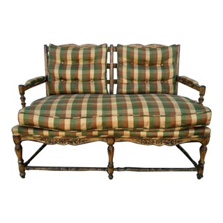 French Country Style Loveseat