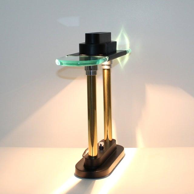 Sonneman Post-Modern Banker's Desk Lamp | Chairish