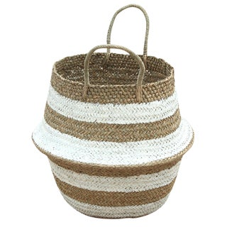 "Brunna ""Stripes Tribes"" Beach Basket"