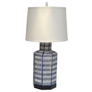 Chapman Ceramic Table Lamp Chinoiserie