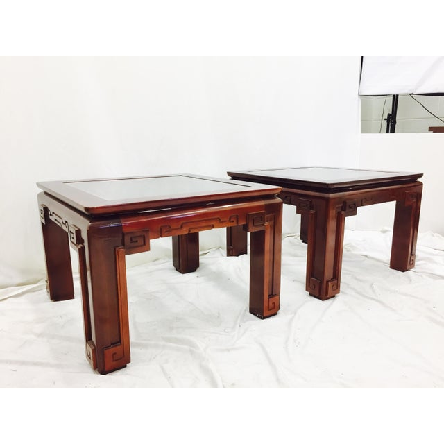 Vintage Asian Ming Style Side Tables - A Pair - Image 2 of 10