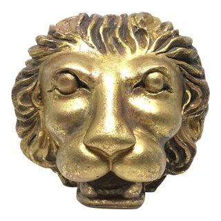 Lion Head Figure Object