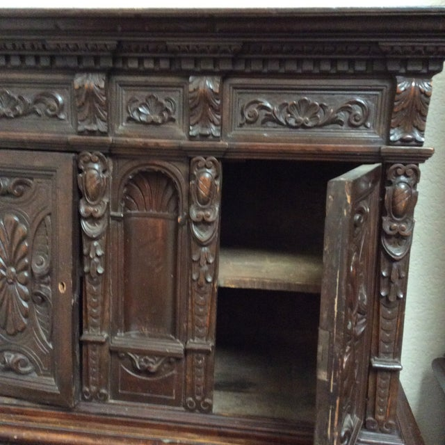 Mediterranean Style Antique Elements Cabinet - Image 8 of 11