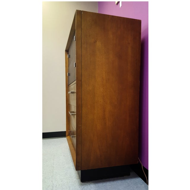 Mid-Century Lane Rosewood Accent Tall Chest - Image 3 of 11