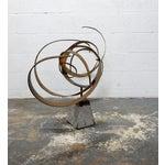 Image of Mid-Century Modern Metal Sculpture