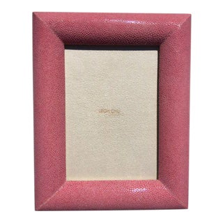 Rose Shagreen Picture Frame