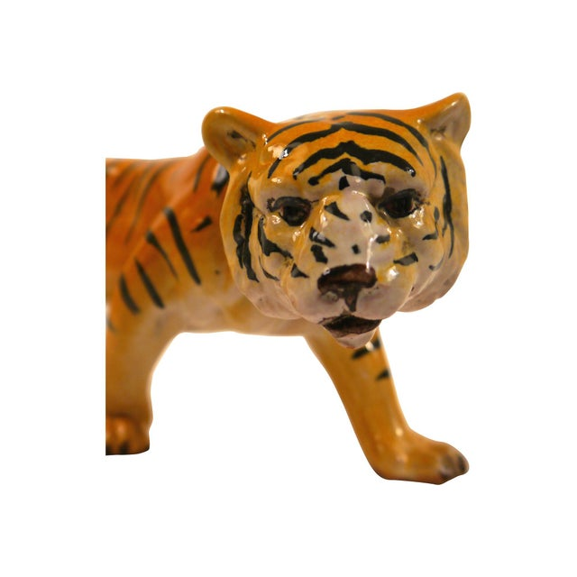1950's Ceramic Italian Tiger - Image 4 of 6