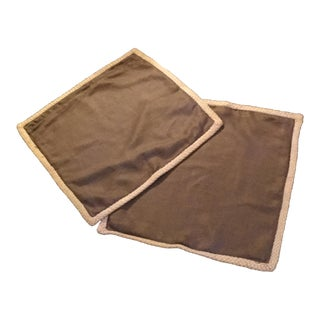 Pottery Barn Linen Pillow Covers - A Pair