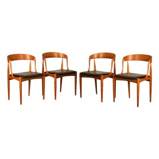 Johannes Andersen Model 16 Dining Chairs - S/4