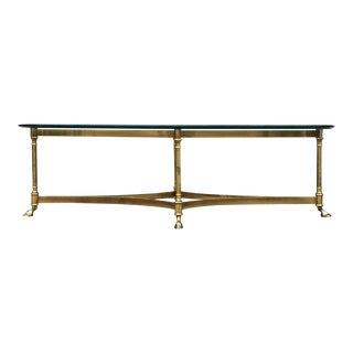 Vintage La Barge Oval Coffee Table