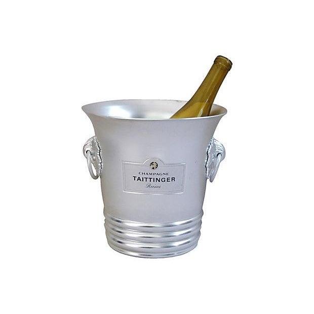 Vintage French Taittinger Champagne Ice Bucket - Image 4 of 4