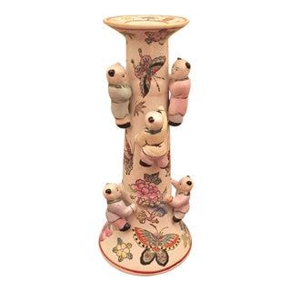 Buddha Babies Candlestick Holder