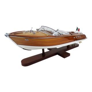 Italian Run About Speedboat Model