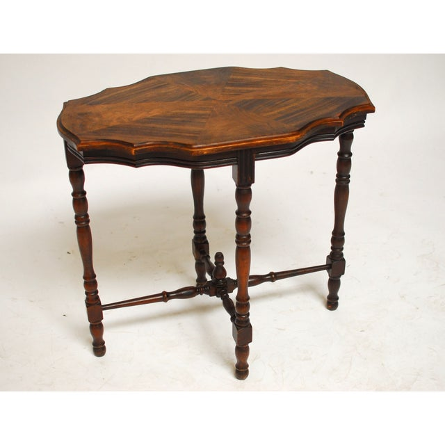Image of Mahogany Occasional Table