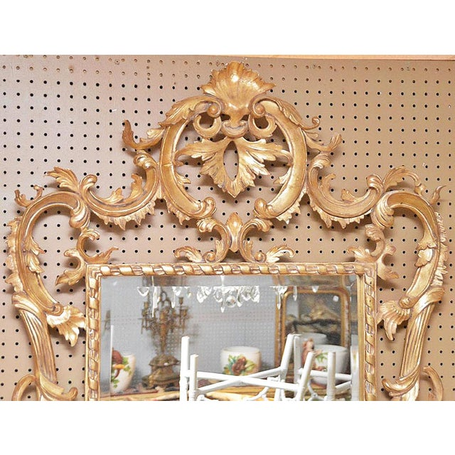 Rococo Style Giltwood Mirror - Image 3 of 3