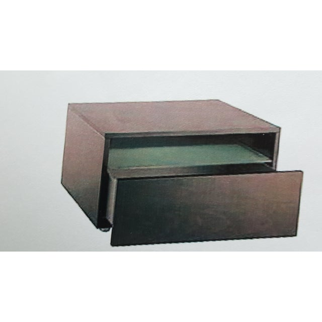 Leggero Wenge Night Stands - A Pair - Image 2 of 2