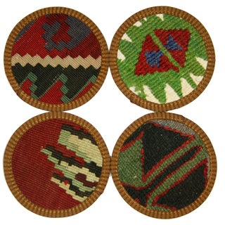 Çorum Kilim Coasters - Set of 4