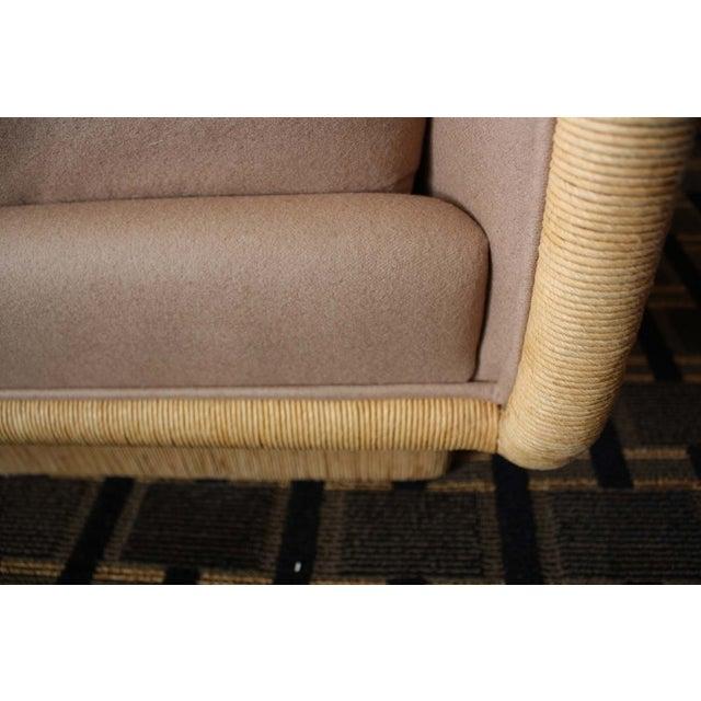 McGuire Laura Kirar Coastal Upholstered Sofa - Image 5 of 6