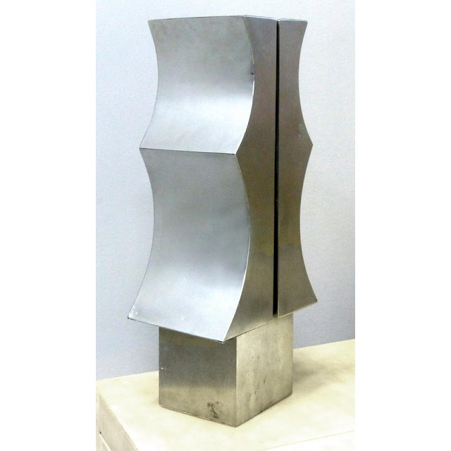 1970s Modernist Aluminum Sculpture by Yutaka Toyota - Image 2 of 11
