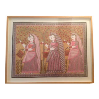 Mithila Drawing From India