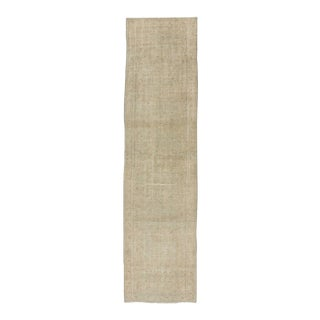 Turkish Distressed Runner Rug - 2′7″ × 10′1″